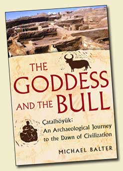 The Goddess and the Bull, Book Cover