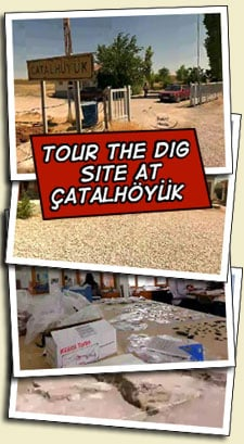 tour the dig site at catalhoyuk