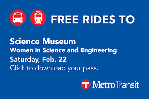 Click here to receive a free transit pass