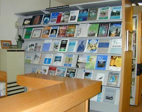 photo of Dunn Library journal collection