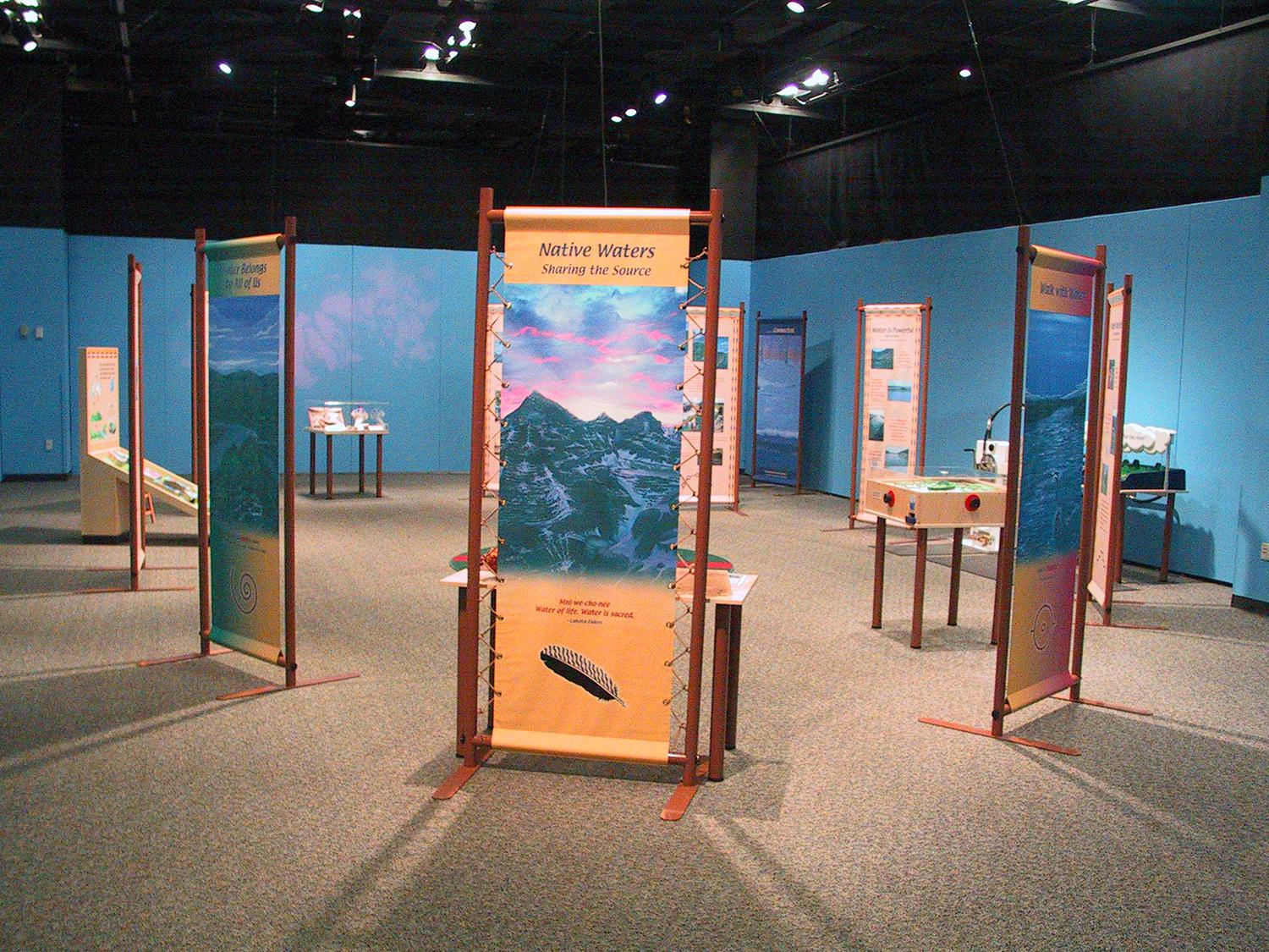Science house at the science museum of minnesota - Native Waters Sharing The Source