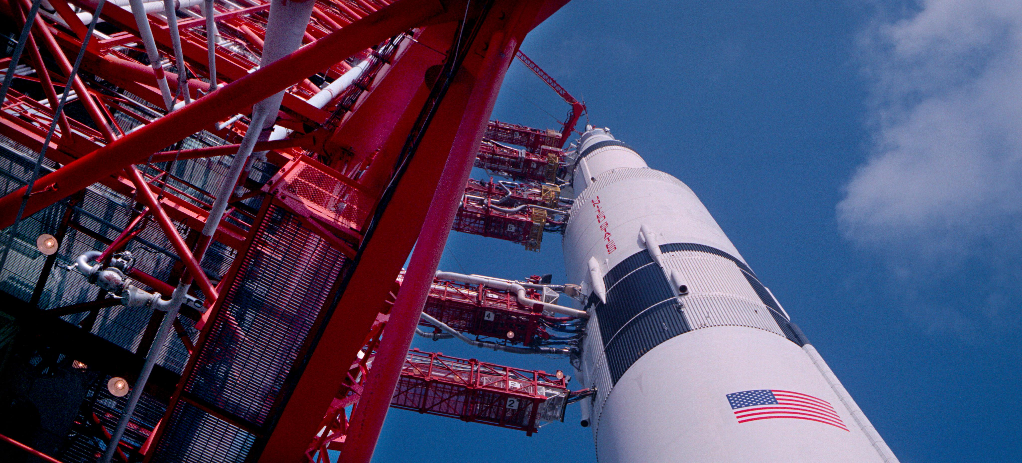 Apollo 15 Saturn V Rocket