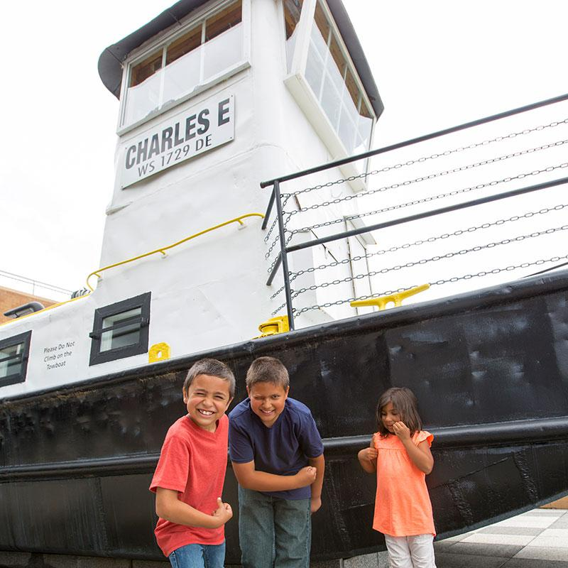 The Charles E. Towboat
