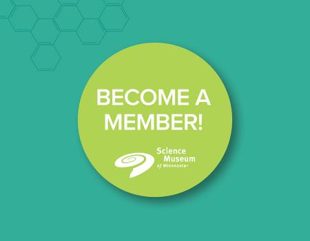 Become A Member Sticker
