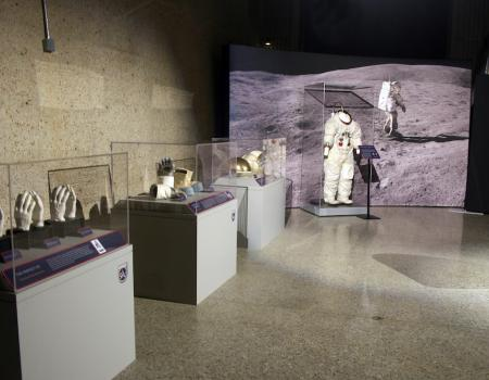 A preview of the artifacts in the Apollo: When We Went To The Moon exhibit.