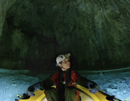 Dr. Gina Mosley In A Cave