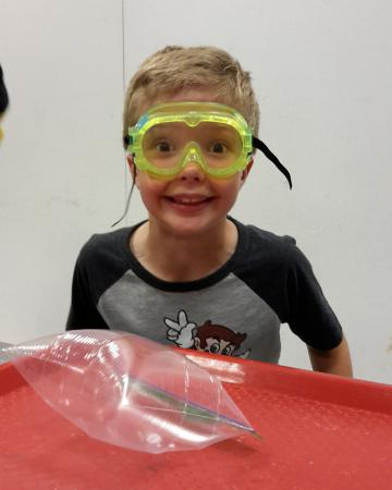 Science summer camps - blow it up