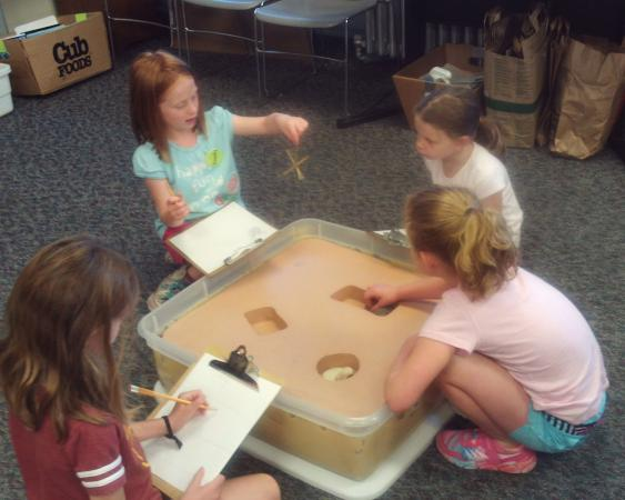 Science summer camps - archaeology