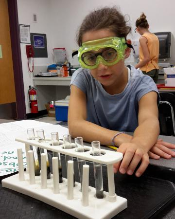 Science summer camps - chemistry