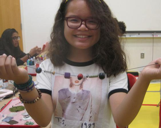 Science summer camps - jewelry maker