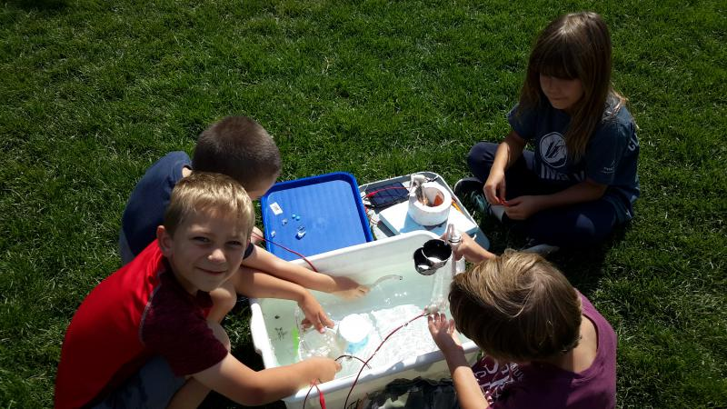 Science summer camps - solar power