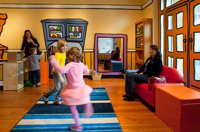 Family Discovery Room - Family Area