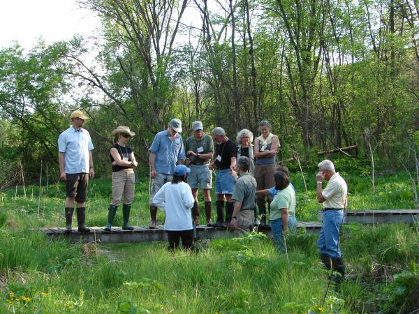 Station friends explore Spring Creek with scientists