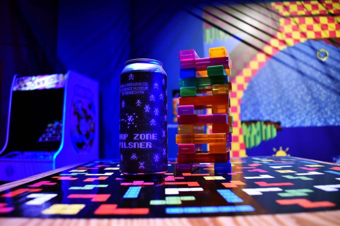 Surly Warp Zone Beer Can